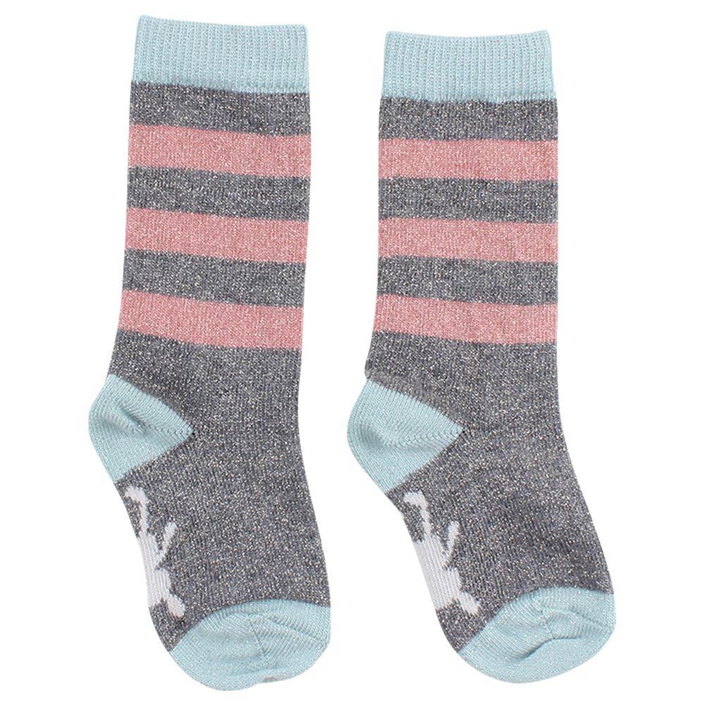 small rags Grace Socks grey Melange
