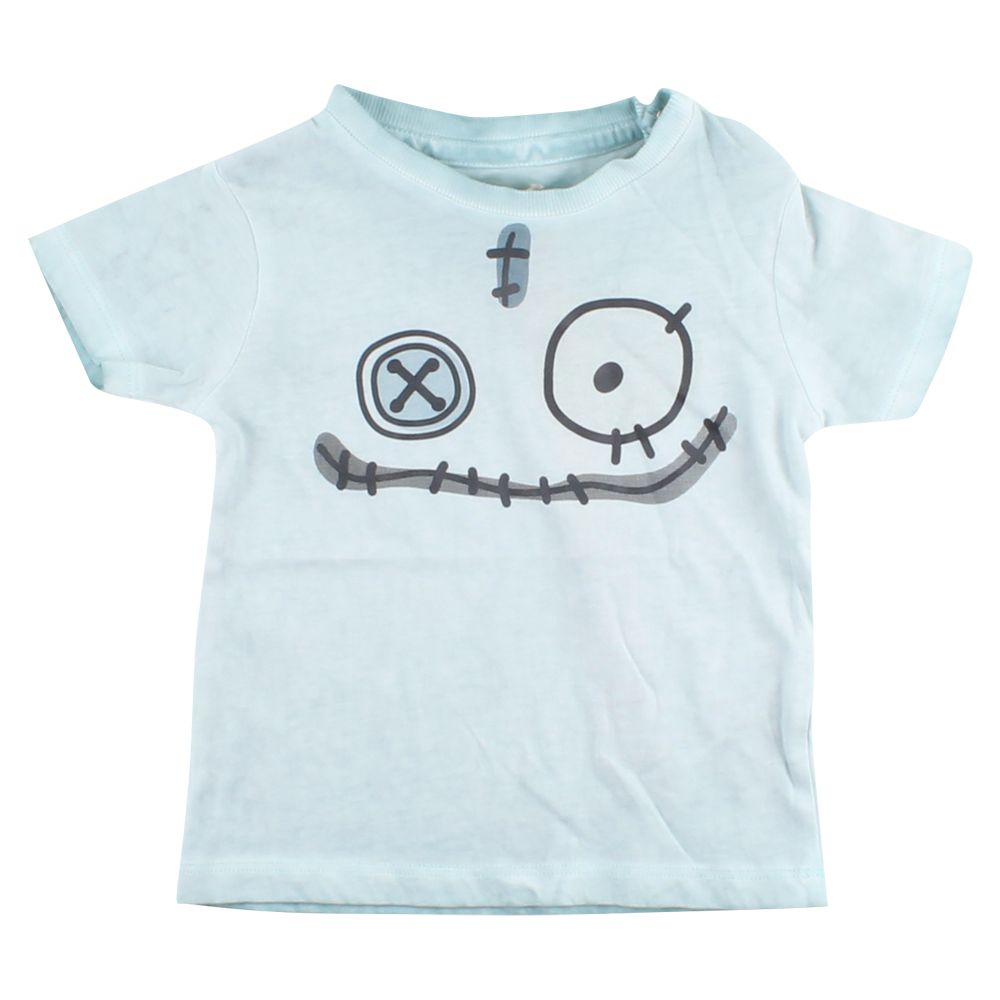 small rags Gary SS T-shirt | Cloud Blue
