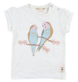 small rags Grace SS T-shirt | Vaporous Gray