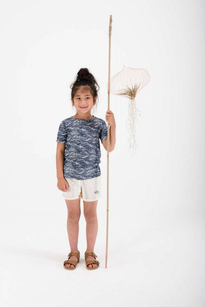 Sproet & Sprout Sweatshort Pufferfish melange