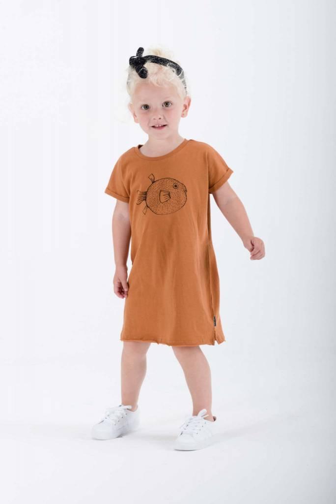 Sproet & Sprout T-shirt Dress Pufferfish