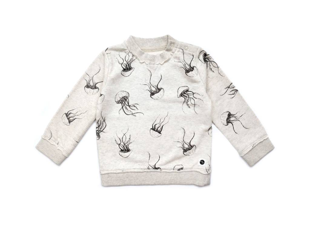 Sproet & Sprout Sweater Jellyfish