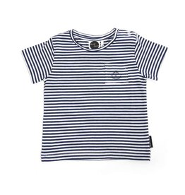 Sproet & Sprout T-shirt Anchor Navy Stripe