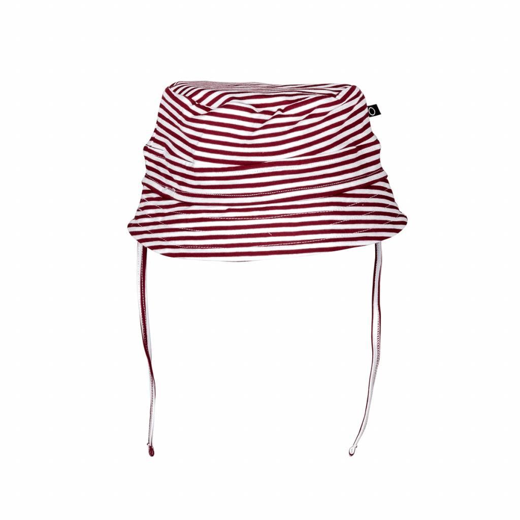 nOeser Bucket hat stripe red