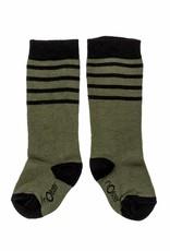 nOeser Socks stripes dark green