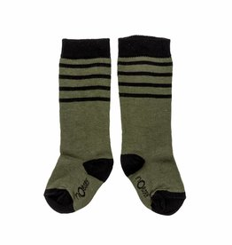nOeser Socks stripes dark green