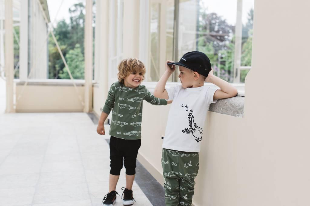 nOeser Sepp t-shirt croc white