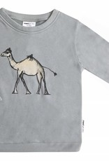 Maed for mini Sweater goofy camel print