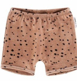 Maed for mini Shorts  pink leopard aop