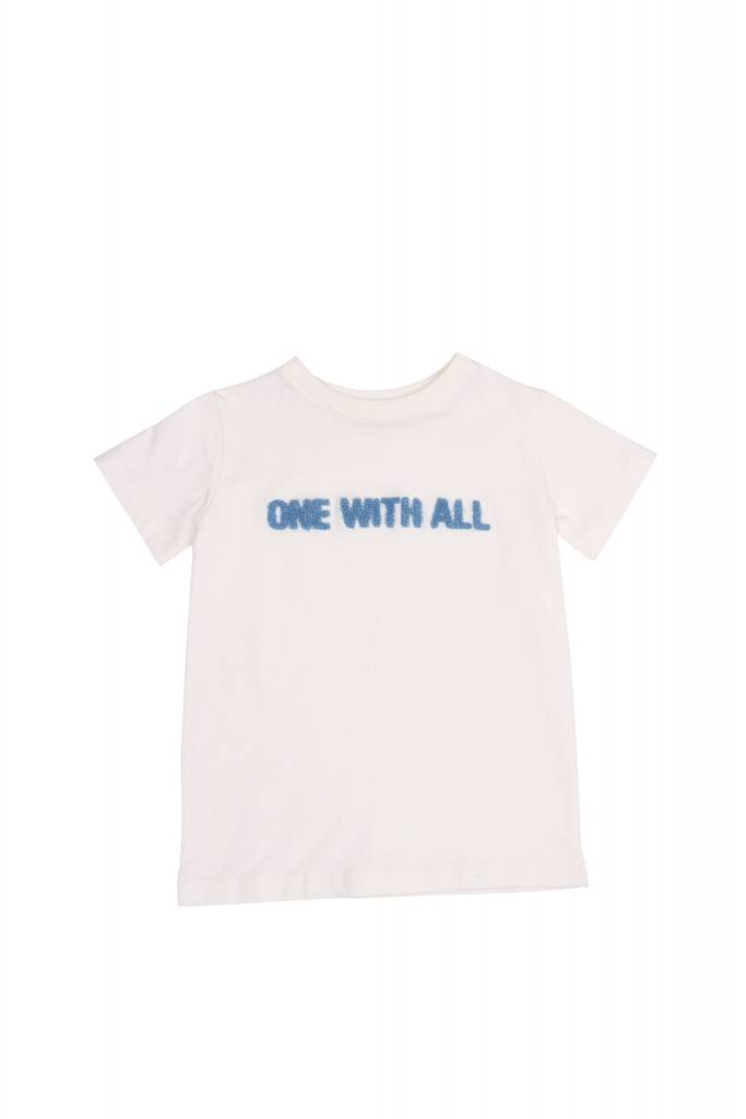 One we Like T-shirt one with all cloud white