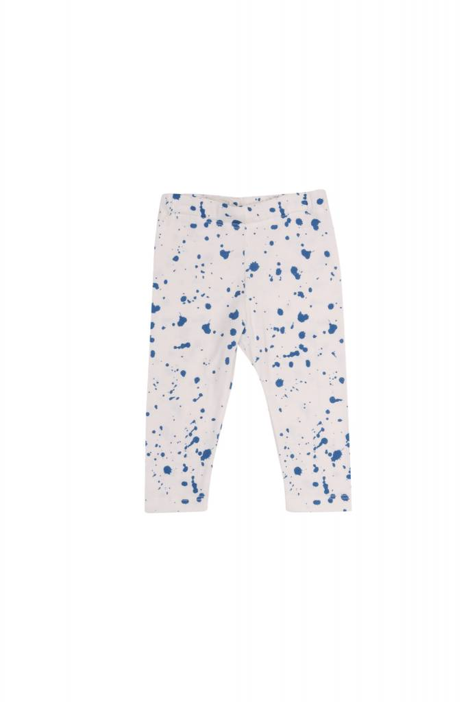 One we Like Baby leggings splash white