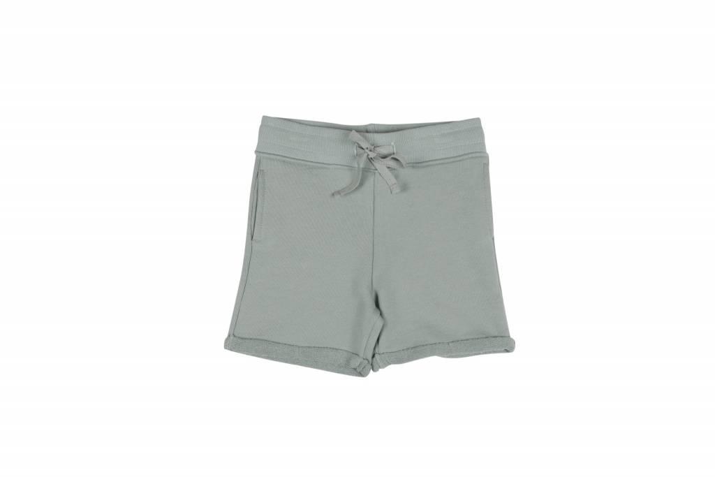One we Like Shorts no print jadeite green