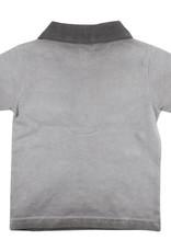 small rags Gary SS T-shirt | Charcoal Gray
