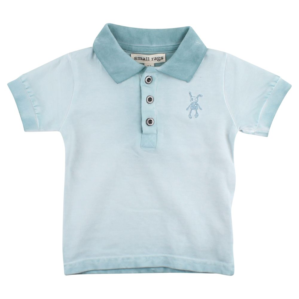 small rags Gary SS T-shirt | Cloud Blue
