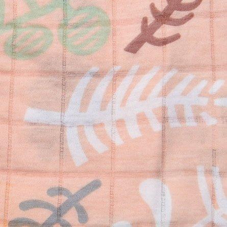 Lodger Swaddle 120x120 Botanimal plush