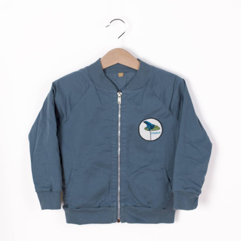 Lotie kids Twill Bomber Jacket Solid