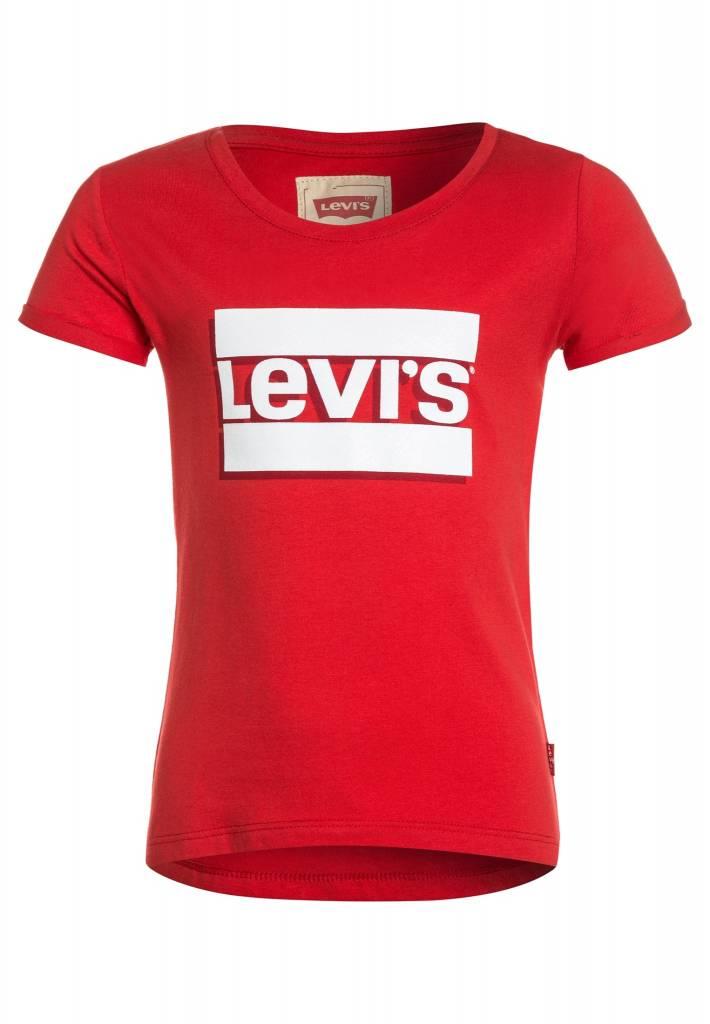 Levi's T-shirt Brenda Poinsettia