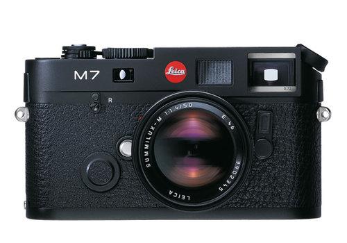 Leica M7 0.72 black chrome finish