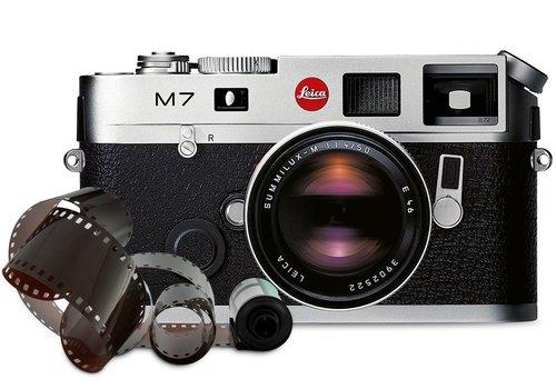 Leica M7 0.72 silver chrome finish