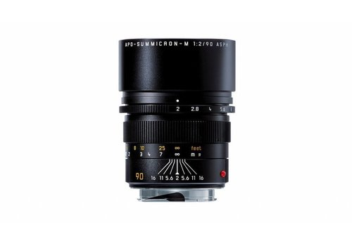 Leica APO-SUMMICRON-M 90 mm f/2 ASPH., black anodized finish