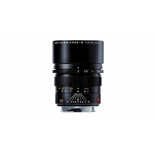 Leica APO-SUMMICRON-M 90 mm f/2 ASPH., black anodized finish