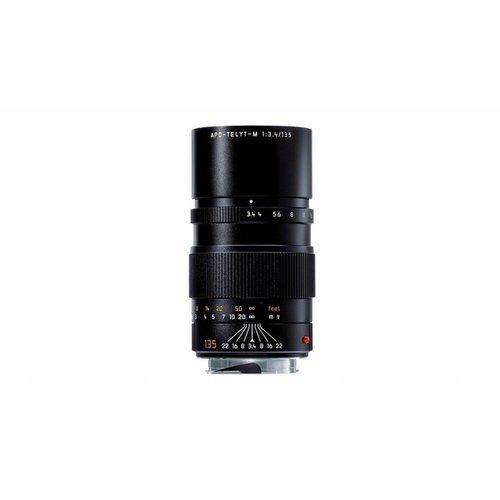 Leica APO-TELYT-M 135 mm f/3.4, black anodized finish