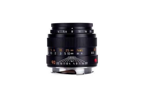 Leica MACRO-ELMAR-M 90 mm f/4, black anodized finish