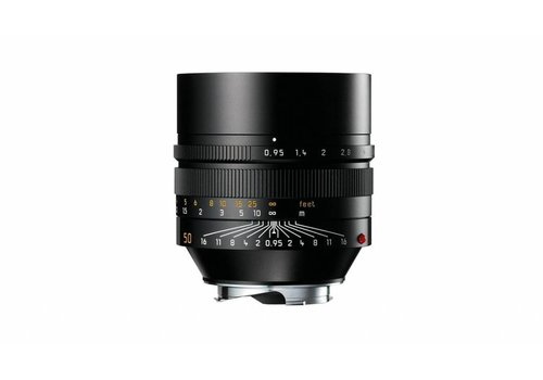 Leica NOCTILUX-M 50 mm f/0.95 ASPH., black anodized finish