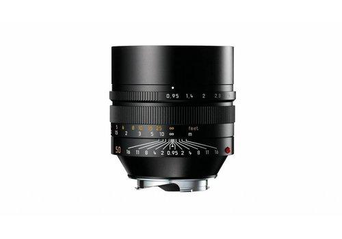 Leica NOCTILUX-M 50 mm f/0.95 ASPH., black anodized finish