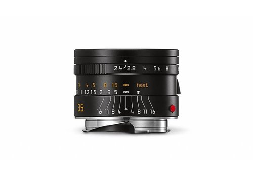 Leica SUMMARIT-M 35 mm f/2.4 ASPH., black anodized finish