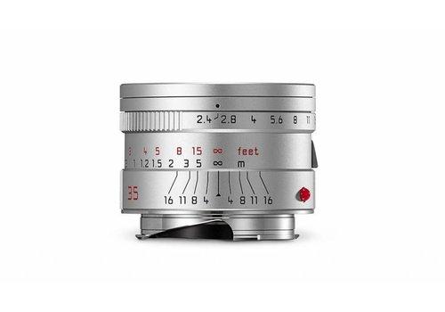 Leica SUMMARIT-M 35 mm f/2.4 ASPH., silver anodized finish