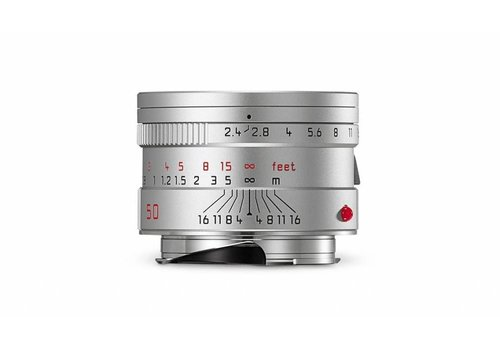 Leica SUMMARIT-M 50 mm f/2.4, silver anodized finish