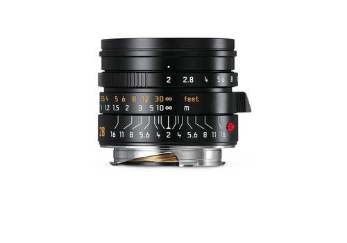 Leica SUMMICRON-M 28 mm f/2  ASPH., black anodized finish