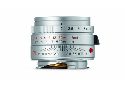 Leica SUMMICRON-M 35 mm f/2 ASPH. silver anodized finish