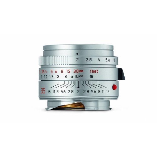 Leica SUMMICRON-M 35 mm f/2 ASPH. silver anodized finish