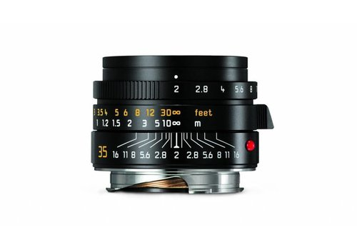 Leica SUMMICRON-M 35 mm f/2 ASPH., black anodized finish