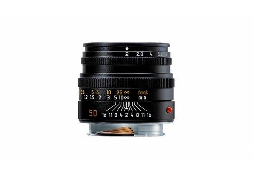 Leica SUMMICRON-M 50 mm f/2, black anodized finish