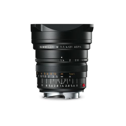 Leica SUMMILUX-M 21 mm f/1.4 ASPH. black anodized finish