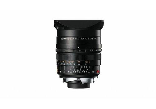 Leica SUMMILUX-M 24 mm f/1.4 ASPH., black anodized finish