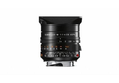 Leica SUMMILUX-M 28 mm f/1.4 ASPH. black anodized finish