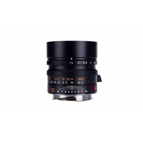 Leica SUMMILUX-M 50 mm f/1.4 ASPH. Black anodized finish