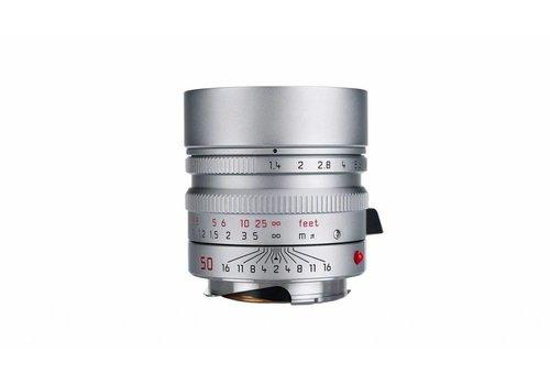 Leica SUMMILUX-M 50 mm f/1.4 ASPH. silver chrome finish