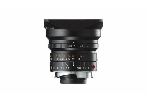 Leica SUPER-ELMAR-M 18 mm f/3.8 ASPH. black anodized