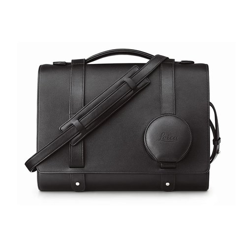 Leica Day bag, leather, black