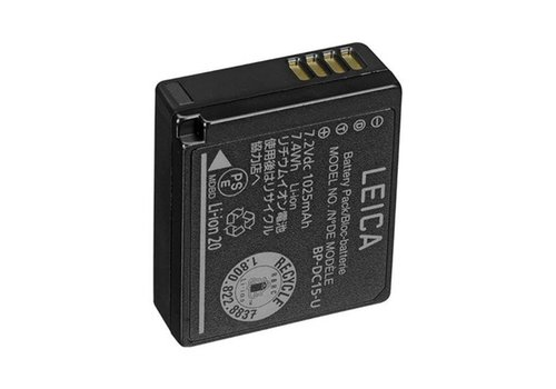 "Leica Lithium-Ion-Battery BP-DC15-E for D-LUX (Typ 109 ""E"",""A"")"