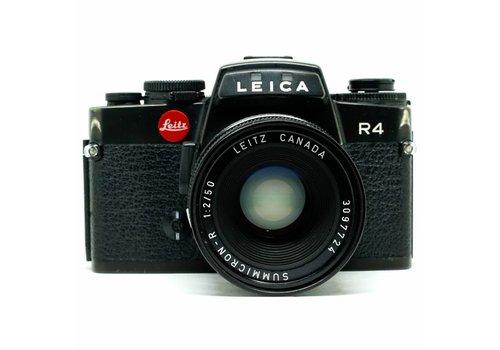 Leica R4 with 50mm f/2.0 Summicron R