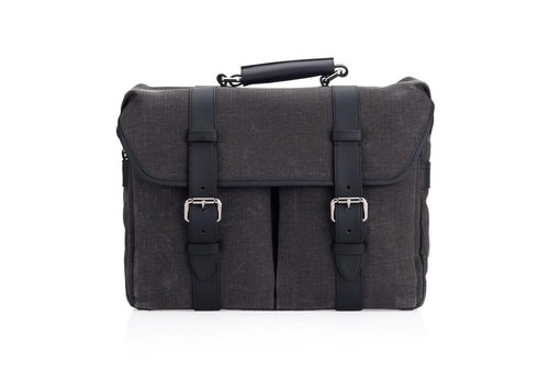 Leica System Case, size L, cotton-linen, grey