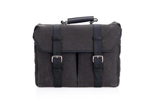 Leica System Case, size L, cotton-linen, grey