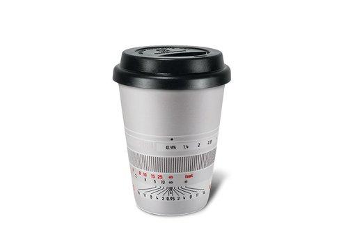 "Leica Coffee Mug ""Noctilux-M 50"", silver"