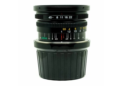 Mamiya 45mm f/4.5L including finder